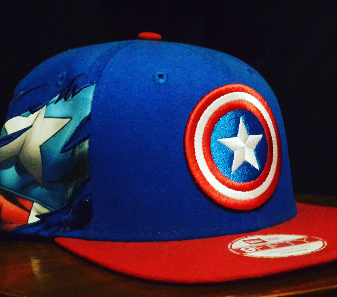94f04fa115e4a New Era Marvel Captain America