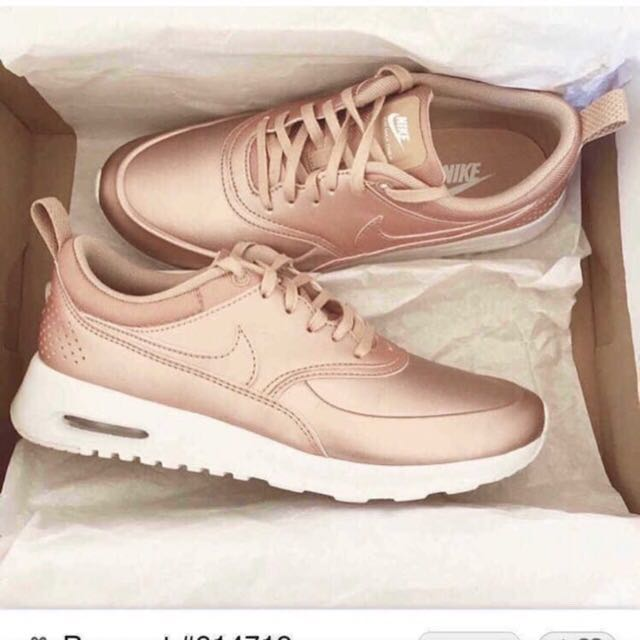 air max rose gold metallic