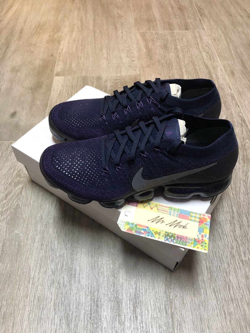 a9deaf8b8903 Nike nikelab Air Vapormax flyknit College Navy Dark Grey Night ...
