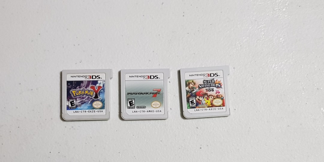 Nintendo 3DS Games Bundle of 3 Carts USA, Video Gaming, Video Games ...