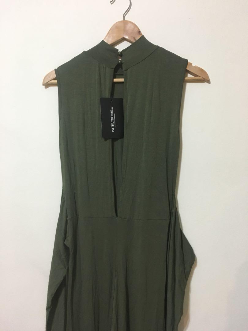 Olive Jumpsuit