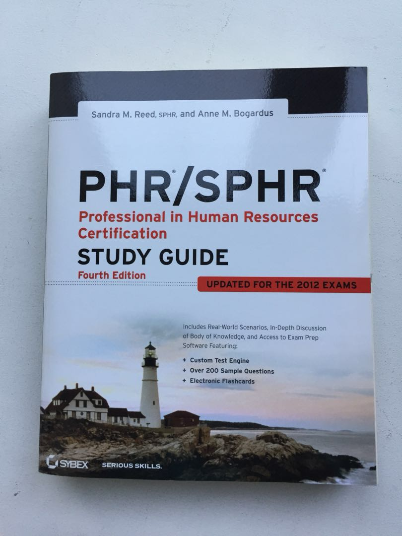 Phrsphr Study Guide For Human Resources Certification Books