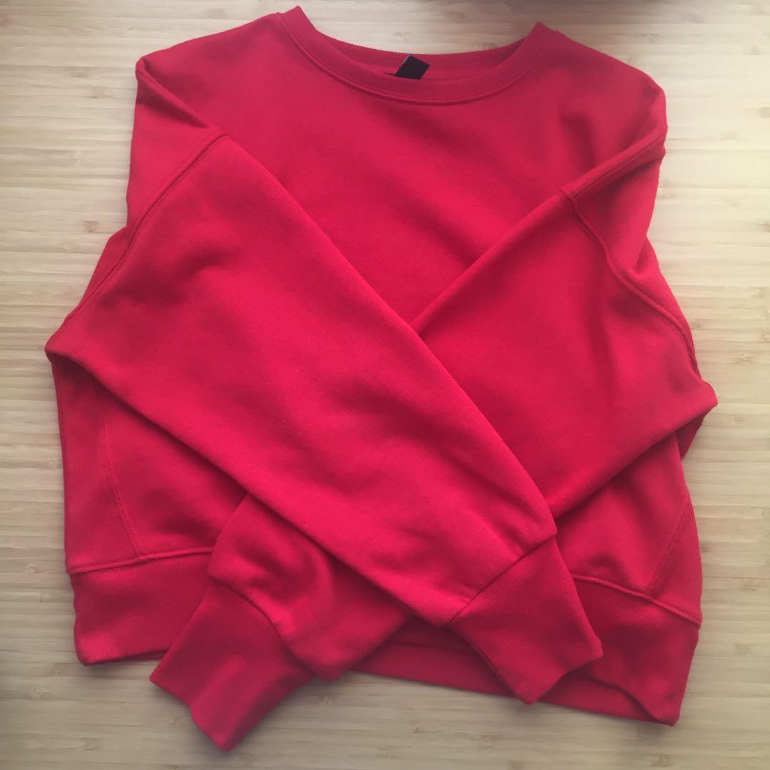 Plain Red Sweater / Jumper