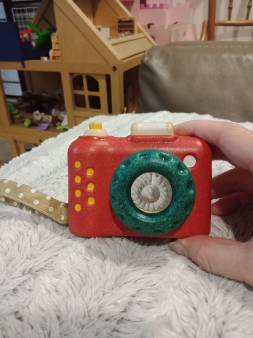For Sale At Later Date Plantoys Wooden Camera