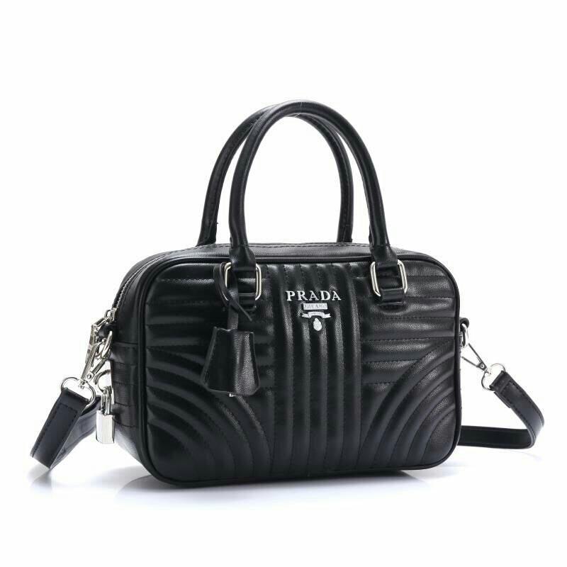 0ec41a170888 Prada Diagramme Crossbody Bag Black