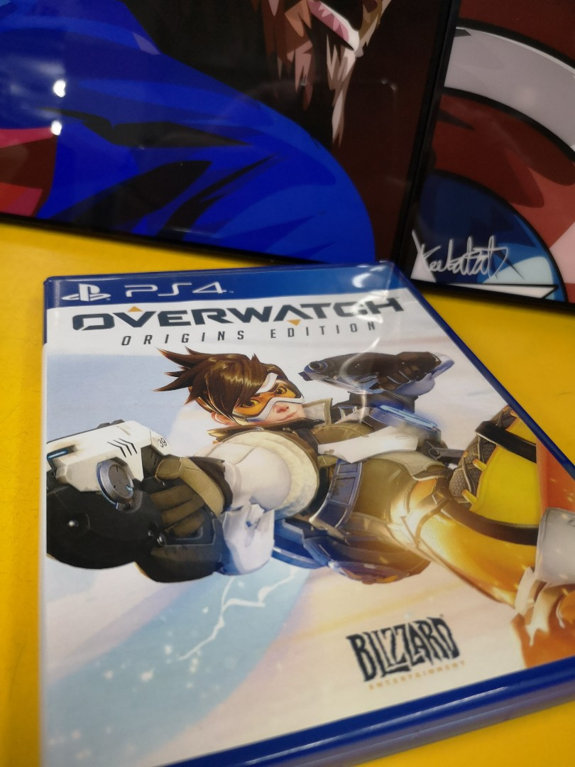 Ps4 Overwatch Origin Edition Video Gaming Games On Carousell Ps4overwatch Reg 2