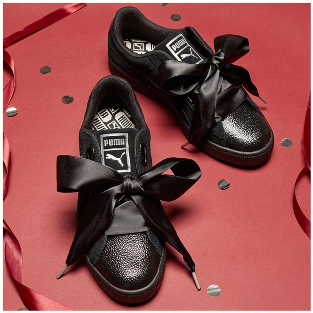 size 40 02eea 15e10 PUMA Suede Heart Bubble, Women's Fashion, Shoes on Carousell