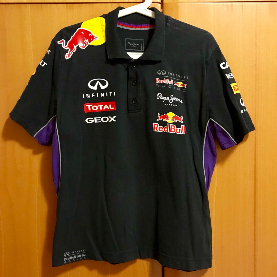red bull racing polo shirt size m sports sports apparel on carousell. Black Bedroom Furniture Sets. Home Design Ideas