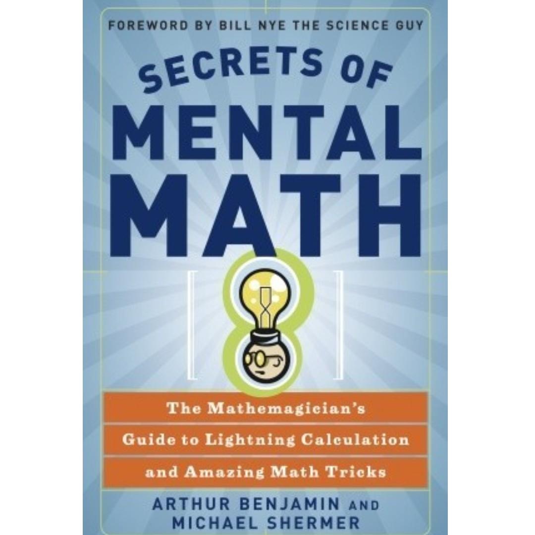 ebook secrets of mental math the mathemagician s guide to rh sg carousell com