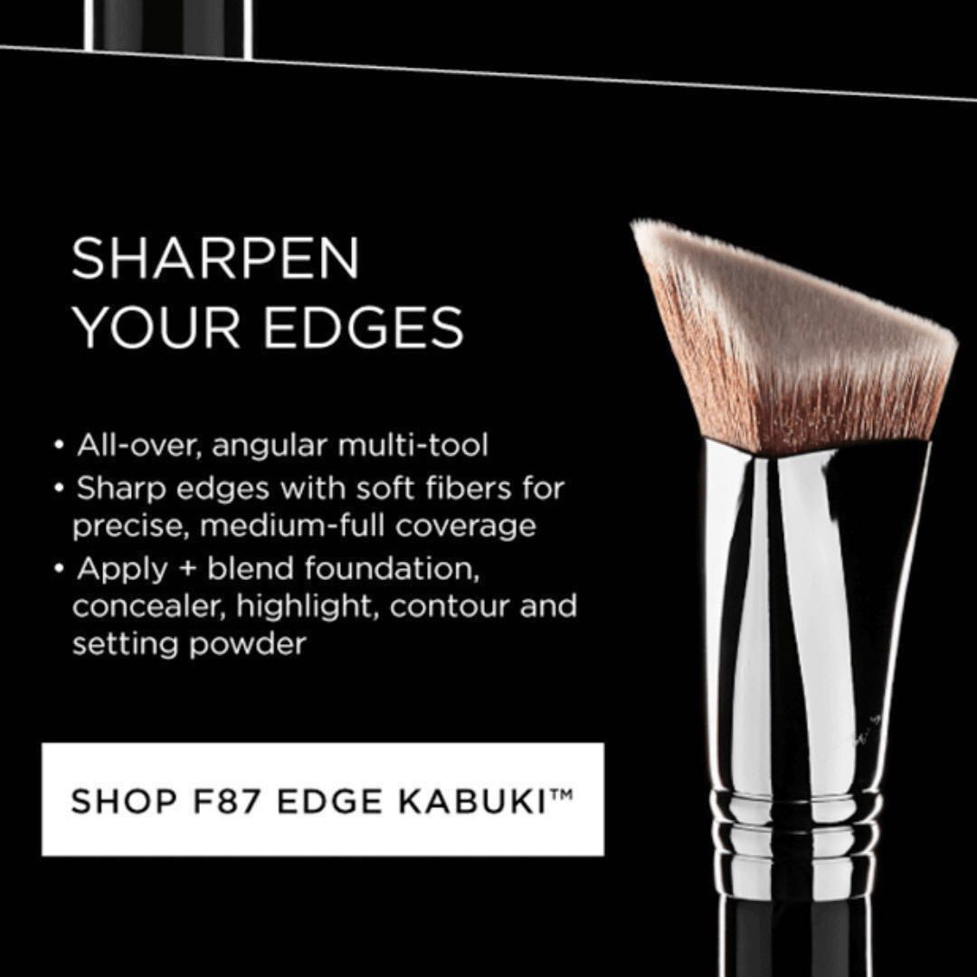 Sigma F87 4DHD EDGE KABUKI™ BRUSH #patented