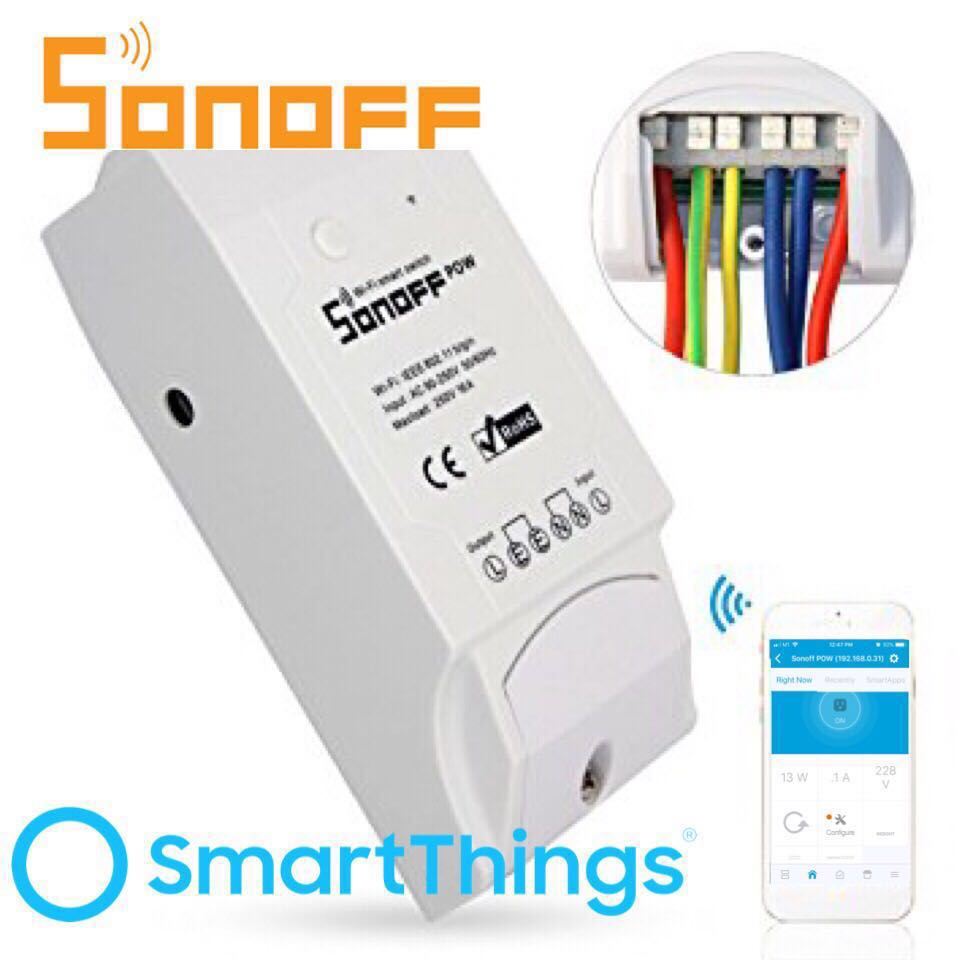 Sonoff smartthings