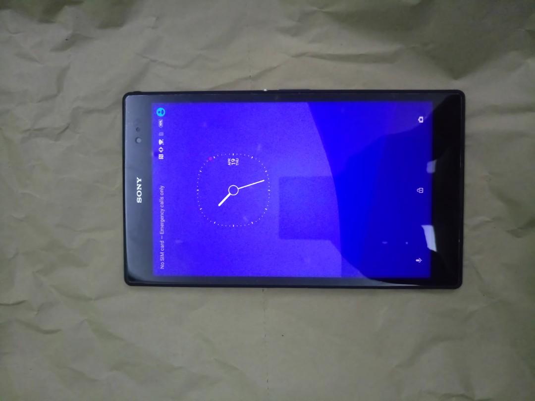 Sony Z3 Tablet Black LTE