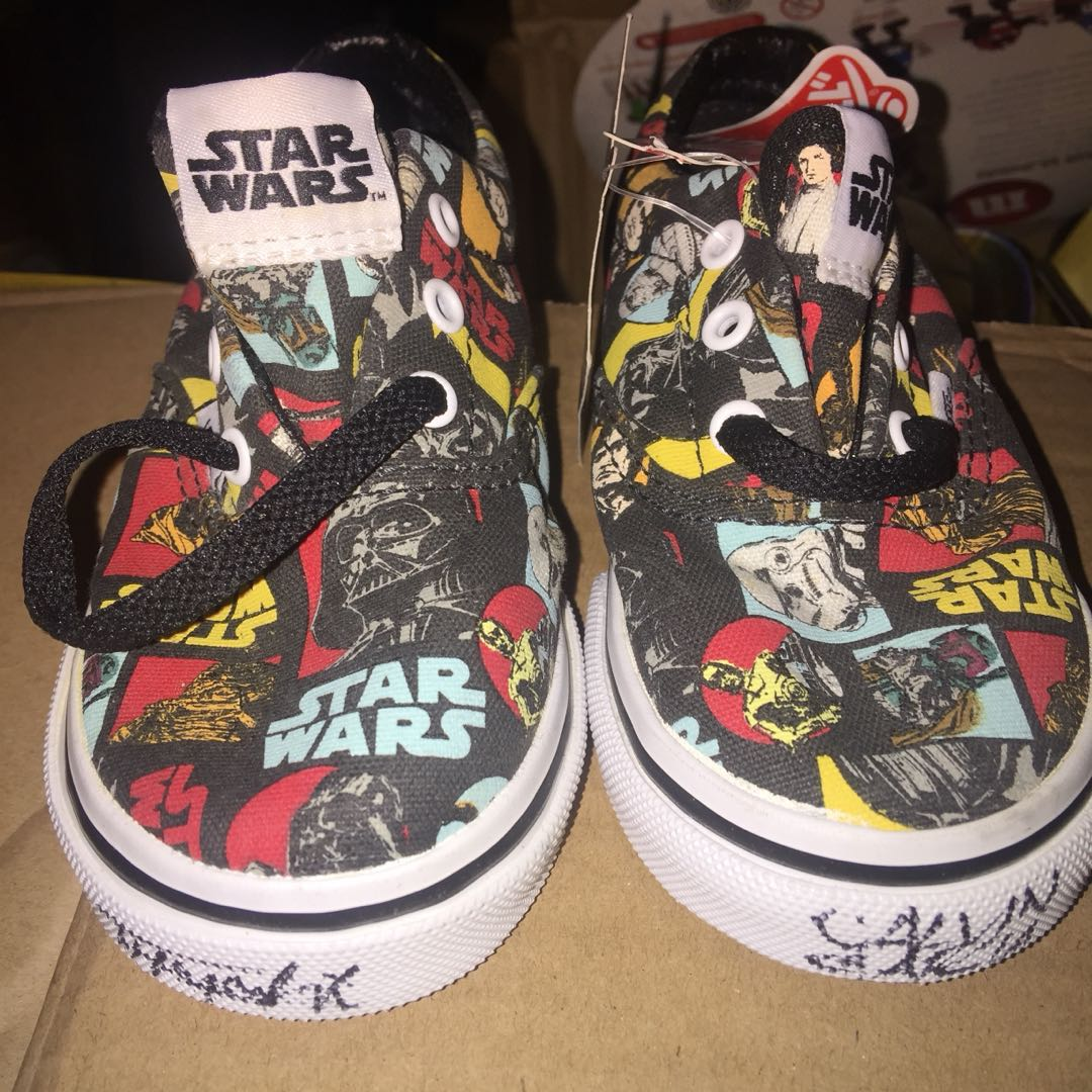 Star Wars Vans shoes (17cm long) for