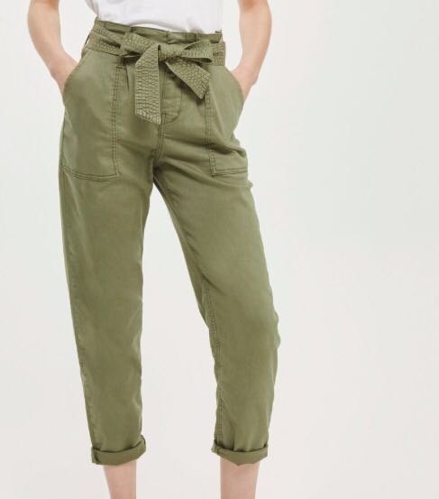 Topshop paperbag trousers