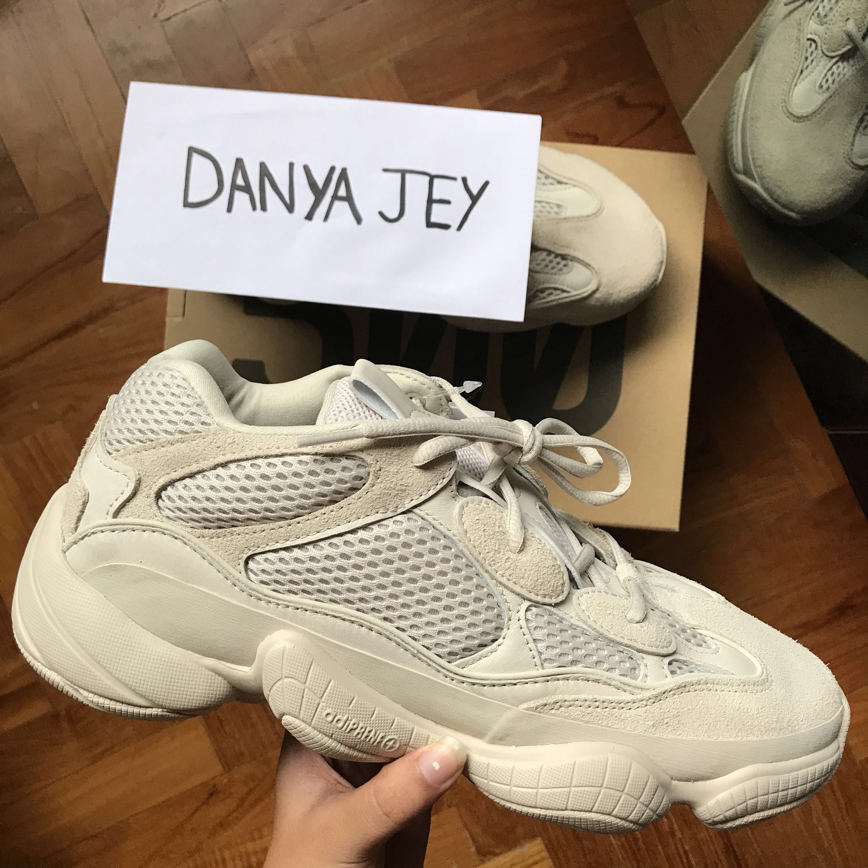 4d0382b8f UK 9.5 US 10 adidas Yeezy 500 Blush