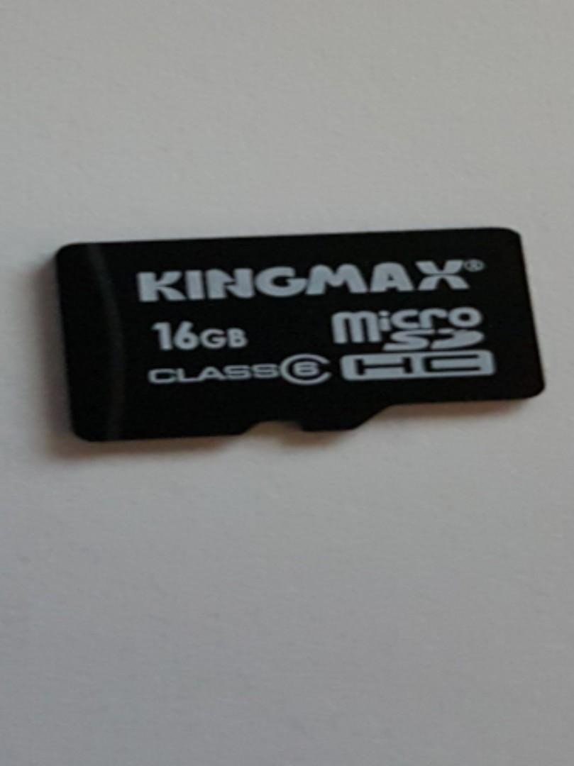 Used assorted brand MicroSD Card 16GB