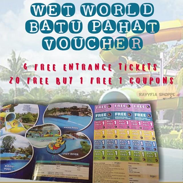 Wet World Batu Pahat Crazy Promo
