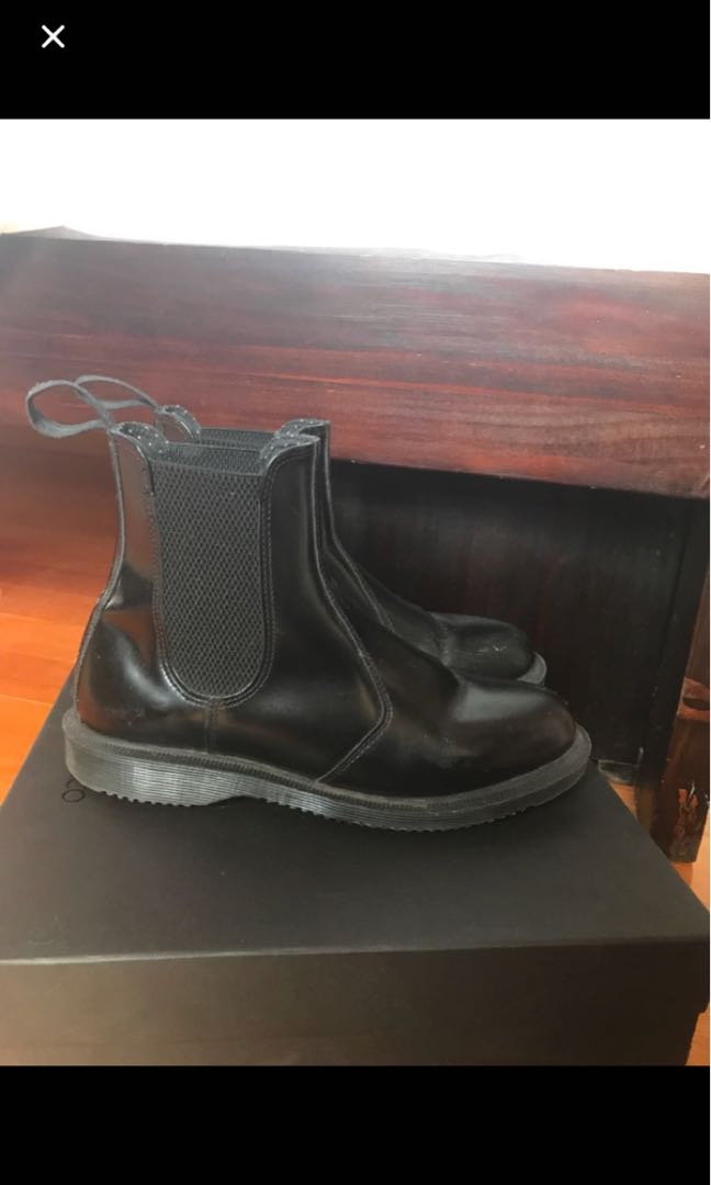 Women's Dr Martens Flora Smooth Boots