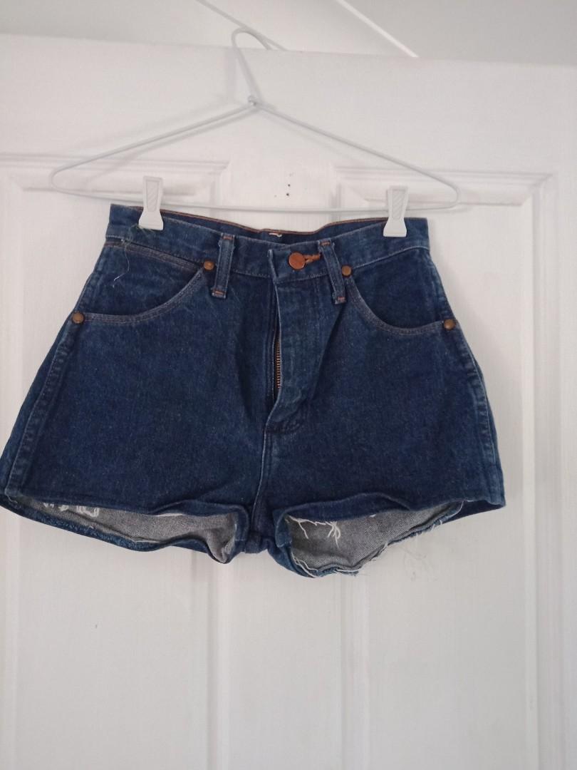 Wrangler mini shorts