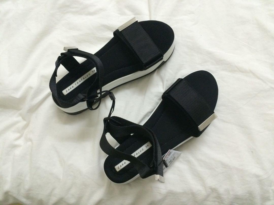Zara Wedge sneakers, Women's Fashion