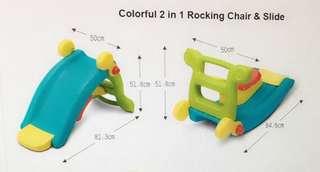 2 in 1 Slide & Rocking Chair