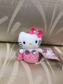 [SOLD OUT] Hello Kitty Mermaid Plush Toy Keychain