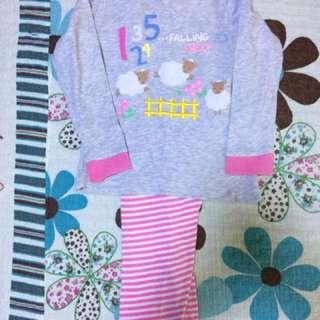 Mothercare girl pyjamas