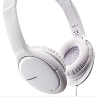 Pioneer SE-MJ711-W Headphones
