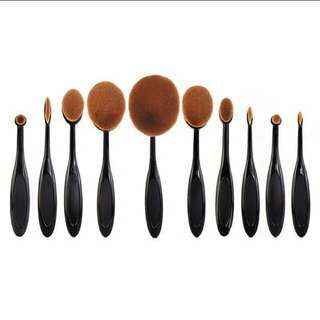 10 pcs paddle brush