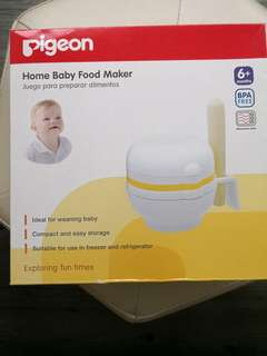 Pigeon baby food maker 加固