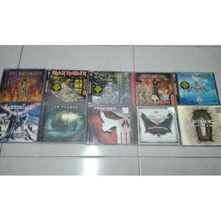 Metal & Rock CDs Imported