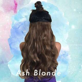 1PC ASH BLONDE HAIR EXTENSION