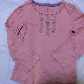 Mothercare pink Tshirt 4-5 years