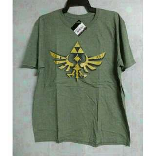 Nintendo Legend of Zelda Vintage Green T Shirt