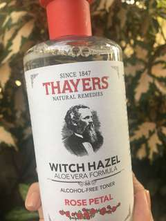 Thayers Rosepetal Witch Hazel Toner 355ml