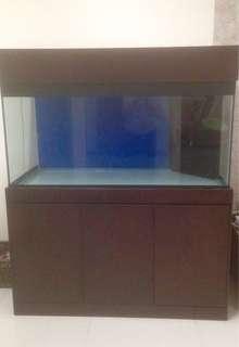 Akuarium + cabinet