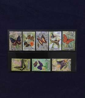 1970 National Butterflies Series 🦋  8 Values Complete