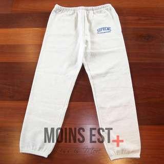 SUPREME Champion Sweatpants - Ash Grey SS17