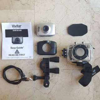 Vivitar DVR 781HD Waterproof Action Sports Camera