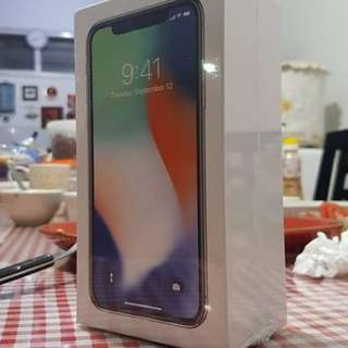 Iphone X new or order