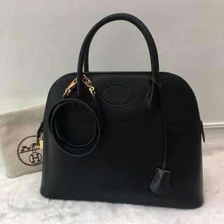 Authentic Hermes Bolide 31 Black