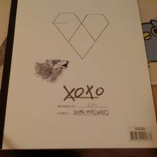 EXO專輯XOXO(KISS&HUG)台壓版