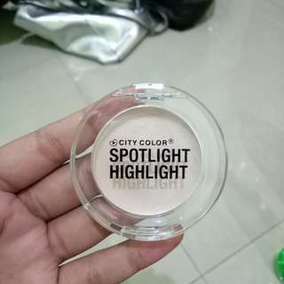 NEW City Color Spotlight Highlighter