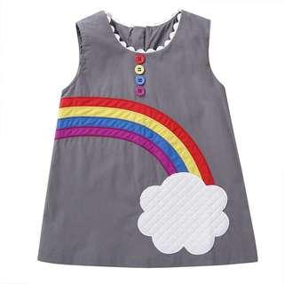 Grey Rainbow 🌈 Dress