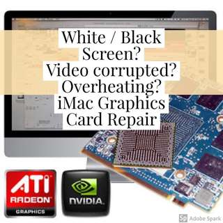 iMac Video Graphics Card GPU Repair