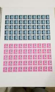 英女皇郵票 2版