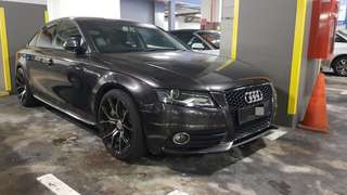Audi A4 1.8A S-line for rental, personal Car, well groomed