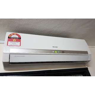 Sharp 1HP AirCond, Good condition. WITH FREE GIFT!