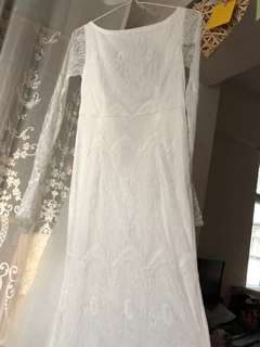 雷絲Pre wedding dress