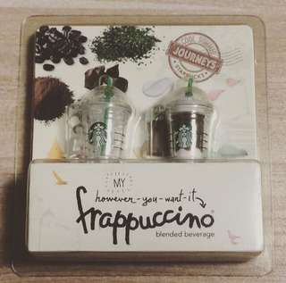 絕版 Starbucks Frappaccino 防塵塞